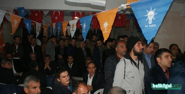 Bozovalılardan Başkan Adayı Aksoy'a destek