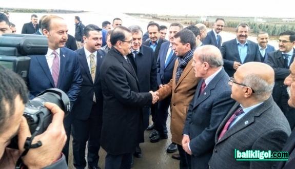 Enerji Bakanı Fatih Dönmez Şanlıurfa'da