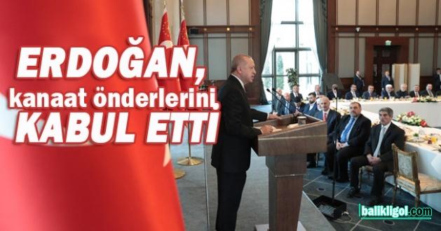 Erdoğan'nın kanaat önderleri toplantısına Urfa'dan Eski Belediye başkanı katıldı