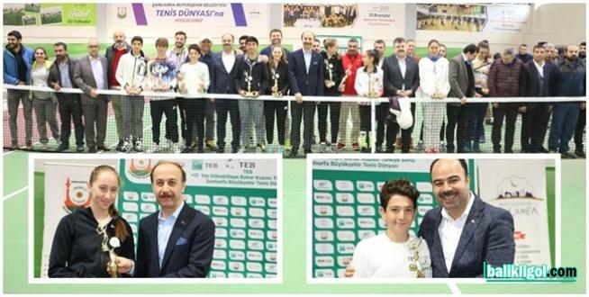 Göbeklitepe Tenis Turnuvası Ödül Töreni İle Sona Erdi