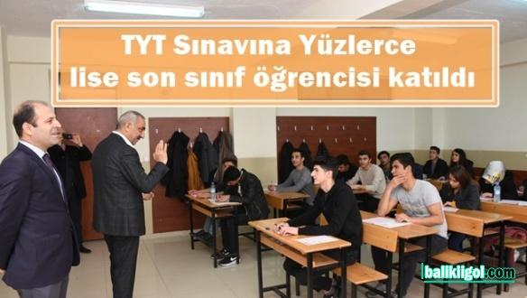 Hilvan'da Belediye Desteğiyle Temel Yeterlilik Testi Sınavı Yapıldı