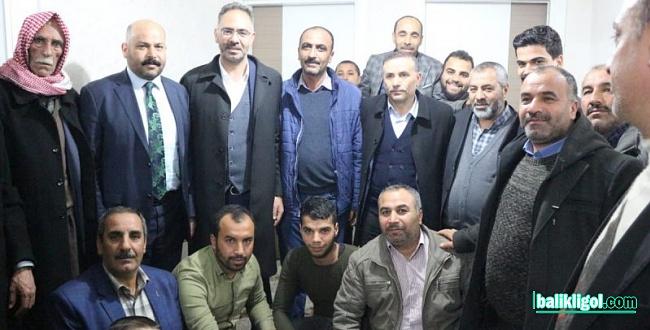 Mehmet Kuş Ev Toplantılarını Sürdürüyor