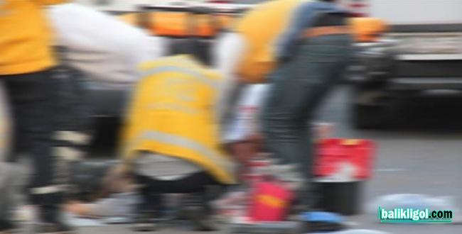 Otomobil ile halk otobüsü çarptı: 3 yaralı