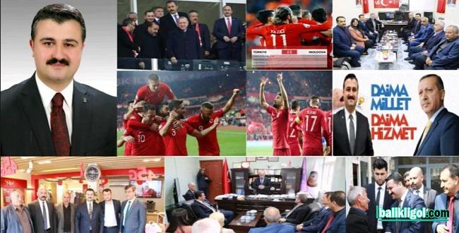 AK Parti İl Başkanı Bahattin Yıldız, dur durak bilmiyor