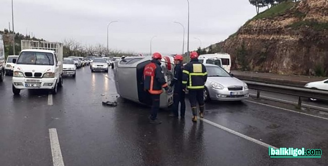Şanlıurfa Akabe yokuşunda trafik kazası