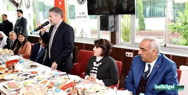 Bakan Yardımcısı Nebati'den AK Parti ve adaylarına destek