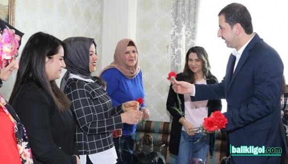 Başkan Baydilli Kadın Çalışanlarıyla Bir araya Geldi