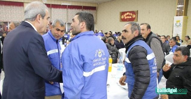 Başkan Demirkol, işçilere teşekkür etti