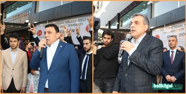 Cumhur İttifakı Adına Karaköprü'de Seçim Bürosu Açıldı