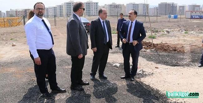 Doç. Erkuş, 1700 yataklı şehir hastanesi inşaat alanını inceledi