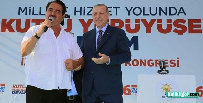 Erdoğan Miting alanında Urfalıların sesini övdü