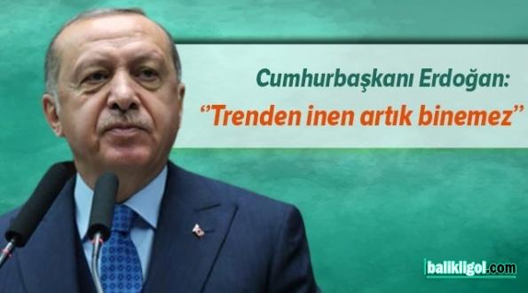 Erdoğan Trenden İnen Binemez Diyerek Onu mu Kastetti