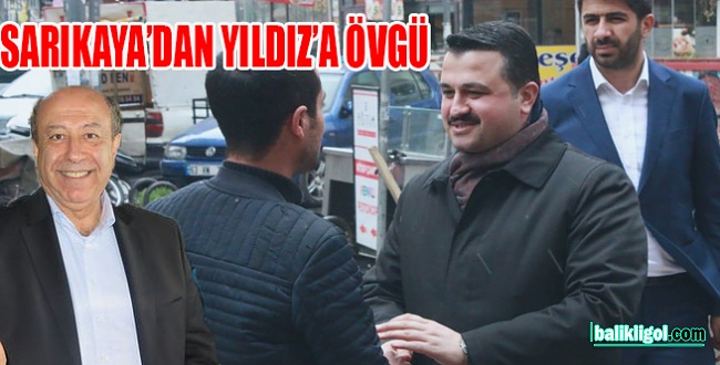 Habertürk Yazarı Sarıkaya'dan AK Parti İl Başkanı Yıldız'a övgü