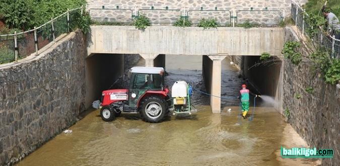 Karaköprü'de Kapsamlı İlaçlama Yapıldı