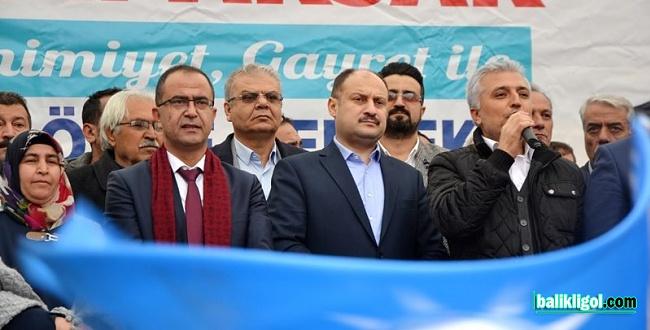 Milletvekili Gülpınar, Başkan Adayı Aksak için destek istedi