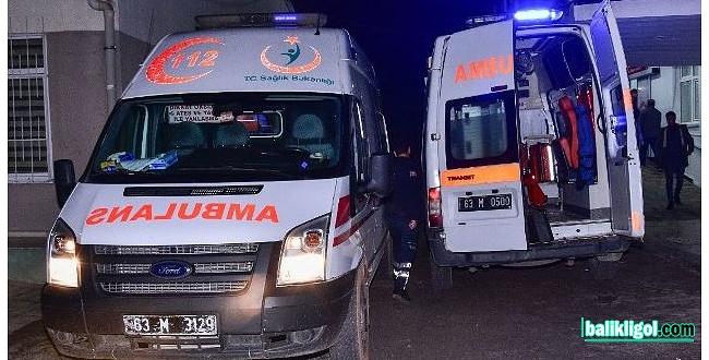 Şanlıurfa'da trafik kazası: 2 ölü, 5 yaralı