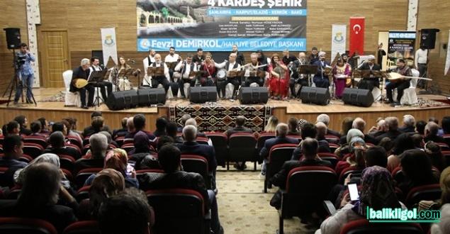 Şanlıurfa'da Anlamlı Konser: Müziğin İzinde 4 Kardeş Şehir