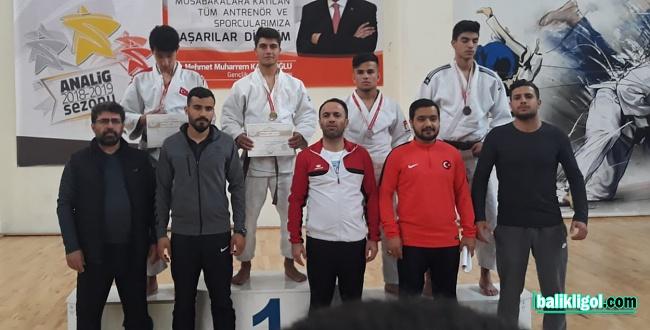 Şanlıurfalı Judocular Takım Halinde bölge 1.'si oldu