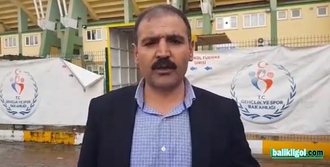 Şanlıurfaspor Kulüp Başkanı Emin Yetim: Emniyet takımımız üzerinde baskı kuruyor