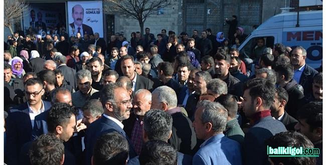Sinan Yavuz Seçim Bürosu Mitinge dönüştü