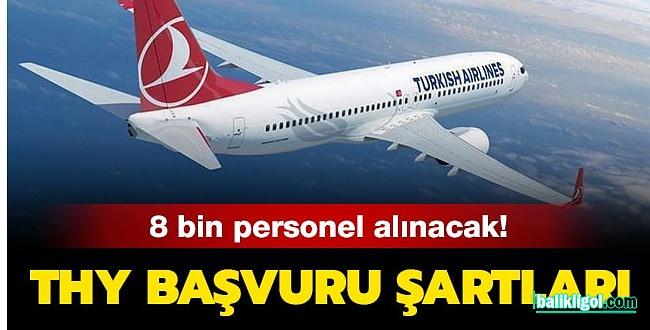 Türk Hava Yolları 8 Bin Personel Alacak