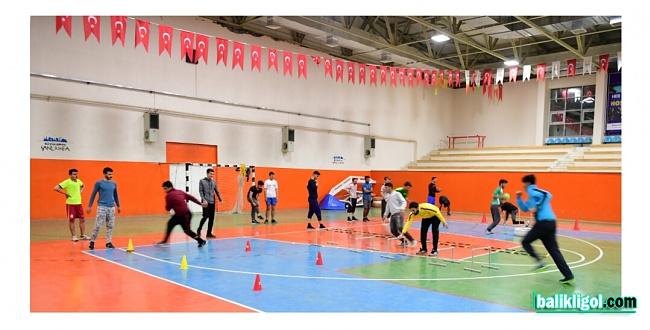 Urfa'da geleceğin sporcularını ücretsiz eğitim veriliyor