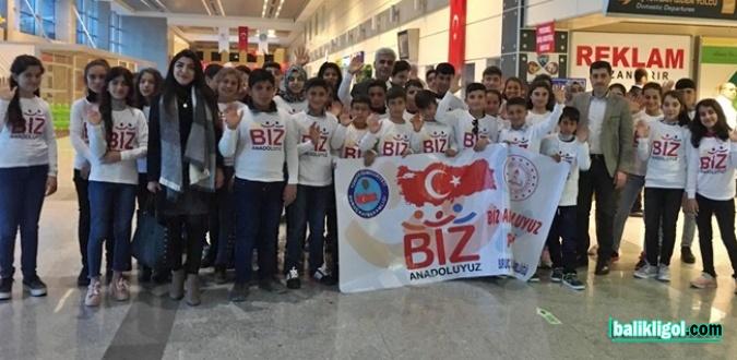 Urfa'dan Trabzon ve İstanbul'a Uçtular