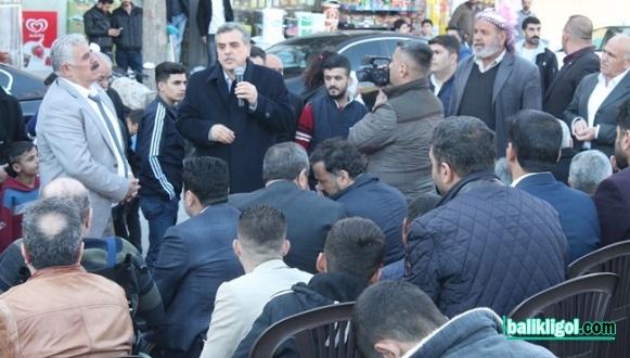 Zeynel Abidin Beyazgül İçin Açılan Seçim Bürosu Mitinge Dönüştü