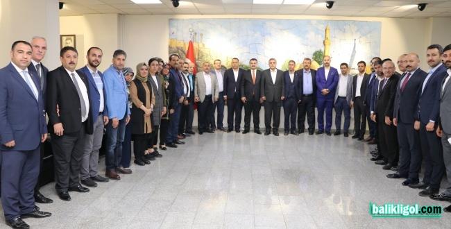 AK Parti İl Teşkilatından Başkan Beyazgül'e Ziyaret