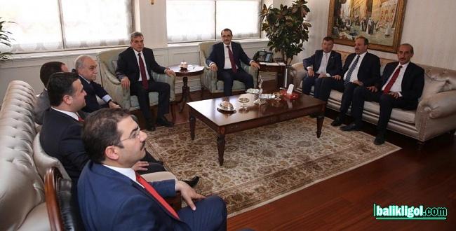Başkan Beyazgül, Urfa'nın enerji sorunları Bakan Dönmez'e iletti