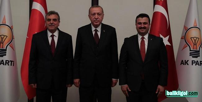 Başkan Erdoğan, Beyazgül ve İl Başkanı Yıldız'ı tebrik etti