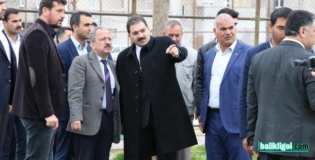 Başkan Mehmet Canpolat Süleymaniye'yi Ziyaret Etti