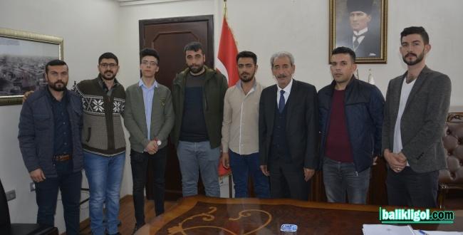 Başkan Şeyhmus Aydın'a yoğun ziyaretler sürüyor