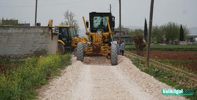 Haliliye Belediyesinden Kırsalda 4 Mahallede Yol Çalışması