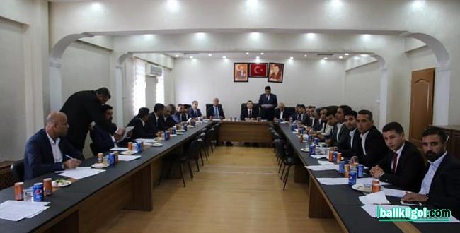 Harran Belediye Başkanı Mahmut Özyavuz, ilk meclis toplantısını gerçekleştirdi