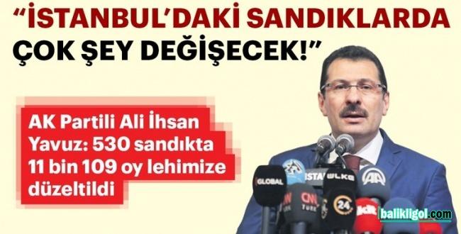 İstanbul Seçimlerinde Son Durumu Ali İhsan Yavuz Açıkladı