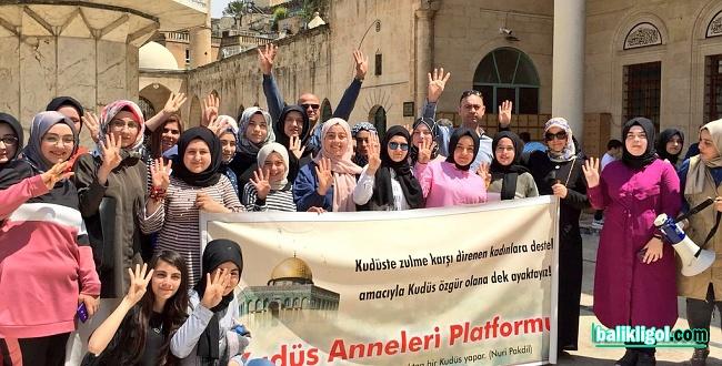Kudüs Anneleri 70. kez haykırdı: Kudüs'e özgürlük