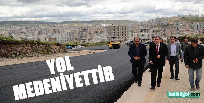 Şanlıurfa Büyükşehir Belediyesi Asfalt Sezonunu Başlattı
