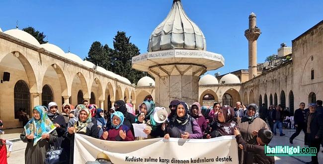 Şanlurfalı kadınlar Kudüs için 68. kez haykırdılar