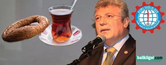 Simit Hesabı Yapan Akbaşoğlu'na Tepki: Evinde 3 öğün çay simit yesin