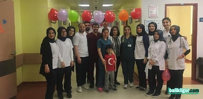 Urfa'da Hastaneden Yatan Çocukları İçin 23 Nisan Şenliği