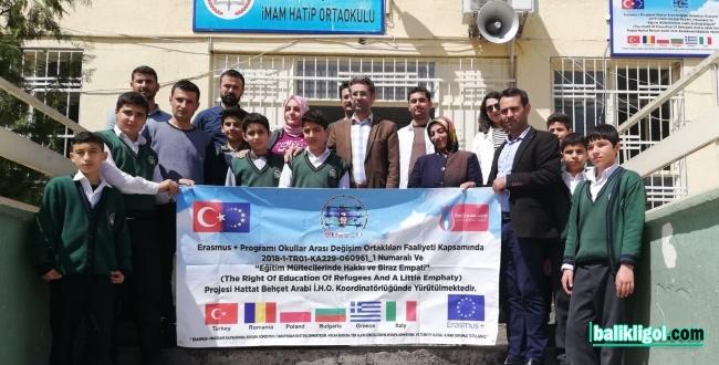 Urfalı Eğitimciler AB'li Eğitimcilere Mültecilerin Sorunlarını anlatacaklar
