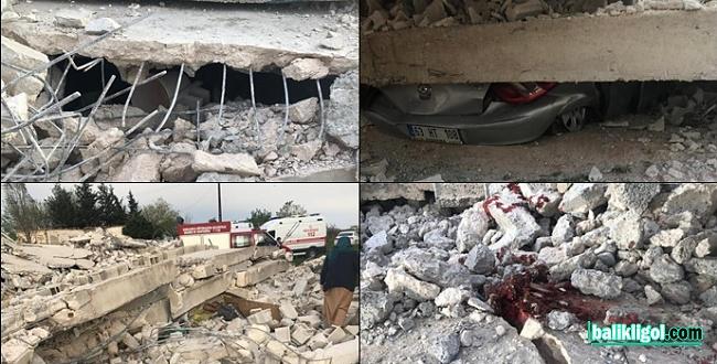 Viranşehir'de Tadilatı yapılan ev çöktü: 1 Ölü, 2 Yaralı