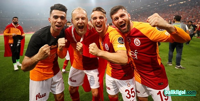 2018-2019 Spor Toto Süper Lig Şampiyonu: Galatasaray