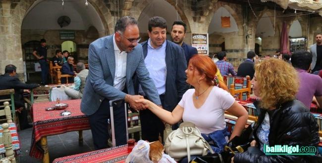 Eyyübiye Belediye Başkanı Mehmet Kuş Turistlerle Yakından İlgilendi