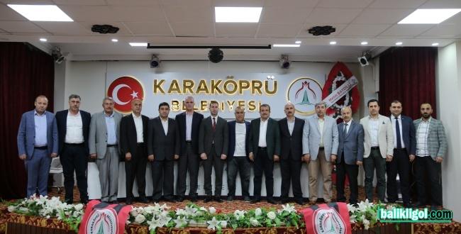 Karaköprü Belediyespor'da Yönetim Belli Oldu! İşte Görev Dağılımı