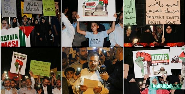 Şanlıurfa'dan Kudüs'e destek yürüyüşü