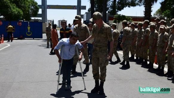Urfa'da 1 Günlüğüne Asker Oldular