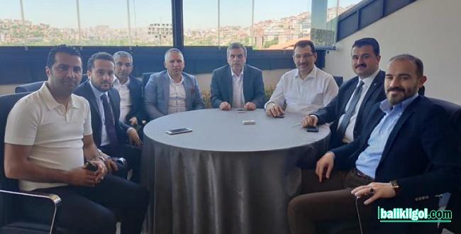 Yıldız ve Beyazgül İstanbul'da Binali Yıldırım için destek istediler