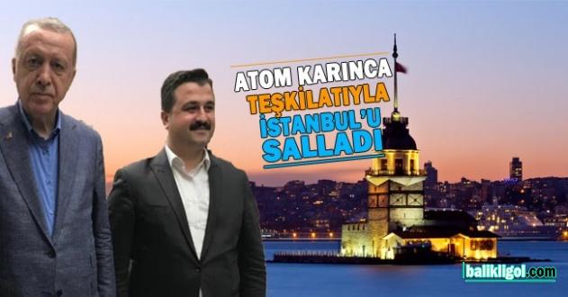 Bahattin Yıldız, ekibi ile birlikte İstanbul'u da adeta salladı